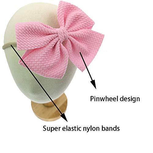 20 шт супер эластичные мягкие банты из нейлона 45 дюйма повязки