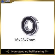 16287 нестандартные шариковые подшипники(1 шт) Внутренний диаметр 16 мм наружный диаметр 28 мм толщина 7 мм подшипник 16*28*7 мм