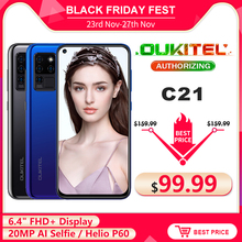 OUKITEL C21 Quad-Camera 20MP 64GB Pump Express3.0 Fingerprint Recognition/face Recognition