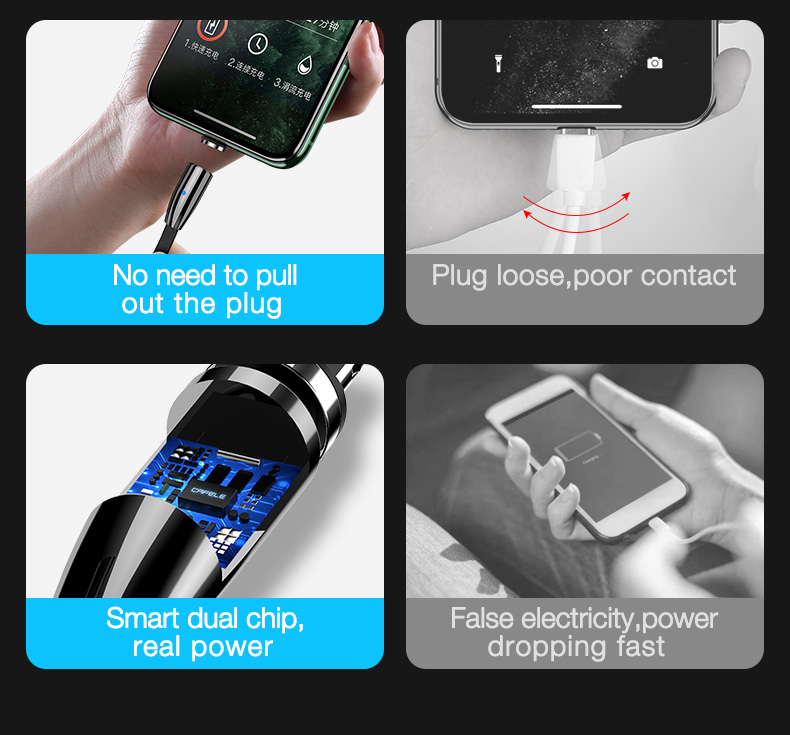 Magnetic Charging USB Cable (2)