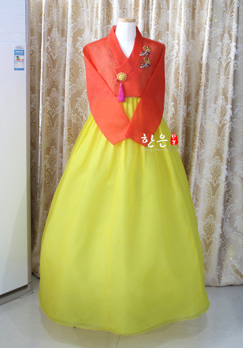 New Improved Hanbok  Korea Imported Fabric Stage Hanbok Fine Hanbok