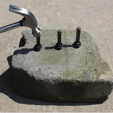 New Stone Splitting Tool  Stone Splitter Metal Plug Wedges and Feathers Shims Concrete Rock Splitters Hand Tool