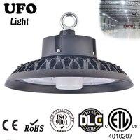 100 200W UFO High Bay Light Motion Sensor Warehouse Workshop Garage Lamp Stadium Market Airport lighting industrial Bumbs