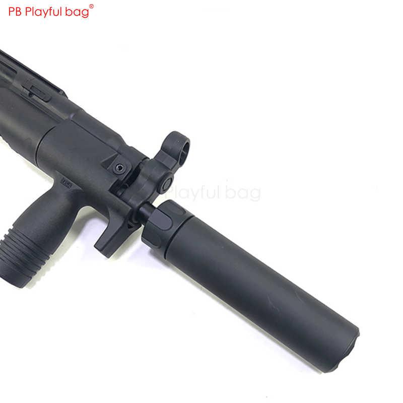 في الهواء الطلق CS لعب التكتيكية أجزاء HQ صغيرة الرماد صناعة MP5K MP5 غلاف 14 عكس الأسنان ترقية المواد تعديل النار كاب MA12