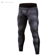 Guard Basketball-Leggings Running-Tights Compression Fitness Men's MMA Tactical-Trousers