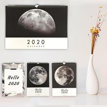 2020 Planner Wall Calendar Noting Paper 2019.10 - 2020.12 Recording Book 365 Days Daily Weekly TO DO LIST Desktop