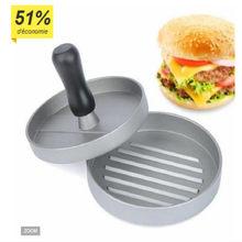 Diy criativo seguro saudável fácil limpo hambúrguer hambúrgueres fabricante imprensa de carne panelas cozinha casa cozimento acessórios
