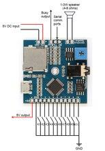 스위칭 음악 모듈 FN BC10 mp3 재생 모듈 회로 보드 10 채널 트리거 오디오 재생 보드