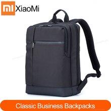 Xiaomi Mi sırt çantası klasik iş sırt çantaları 17L büyük kapasiteli öğrencileri Laptop çantası erkek kadın çanta 15 inç Laptop için dayanıklı
