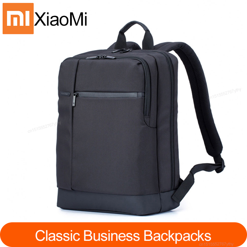 Xiaomi Mi Backpack Classic Business Backpacks 17L Big Capacity Students Laptop Bag Men Women Bags For 15-inch Laptop Durable image