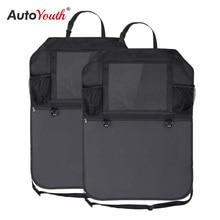 カーシートバック収納袋ほとんどのカーシートポケット多機能 収納子供の製品防止席から kick