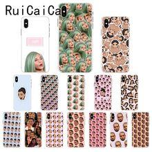 Ruicaica Kimoji Kim Kardashian kanye west north kylie jenner Phone Case for iPhone 8 7 6 6S Plus X XS MAX 5 5S SE XR 10 Cover detlef jens north west spain cruising companion