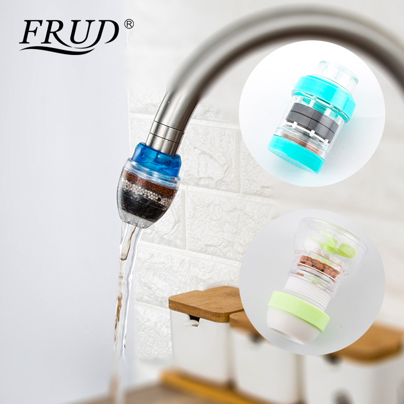 Household Water Filter Carbon Home Kitchen Mini Faucet Tap Clean Purifier Filtration Cartridge