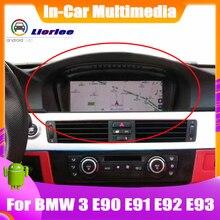 Android のシステムアップデート BMW 3 シリーズ E90 E91 E92 E93 2009 〜 2012 HD タッチスクリーンステレオラジオテレビ GPS ナビゲーションの Bluetooth