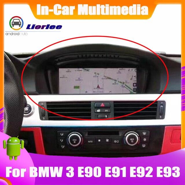 Обновленная система Android для BMW 3 серии E90 E91 E92 E93 2009 ~ 2012 HD сенсорный экран стерео радио ТВ GPS навигация Bluetooth