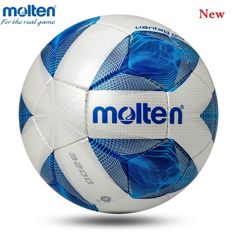 Newest Molten Soccer Ball Official Size 5 Size 4 Football Ball Professional Match Football With Free Gift Futbol Bola De Futebol