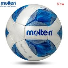 цена Newest Molten Soccer Ball Official Size 5 Size 4 Football Ball Professional Match Football with Free Gift futbol bola de futebol онлайн в 2017 году
