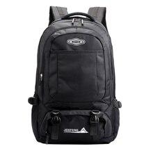 купить 2019 Men Backpack Casual Nylon Waterproof Outdoor Travel Bag Laptop Bag Large Capacity Ladies Luggage Backpack  Black School Bag по цене 1169.89 рублей