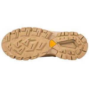 Image 3 - Military Stiefel Wüste Special Kraft Leder herren Lace Up Ankle Schuhe Männliche Taktische Zipper Armee Kampf Sicherheit Arbeit Stiefel