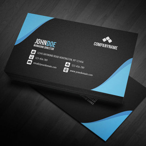 100PCS,Free Shipping Free design Custom logo business card Double copper paper double-sided full-color printing