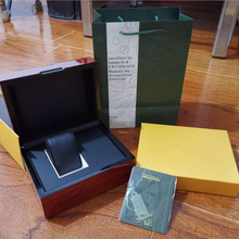 Box Wristwatch Gift-Box Wooden-Boxes Original NEW Mens Papers Update-Version