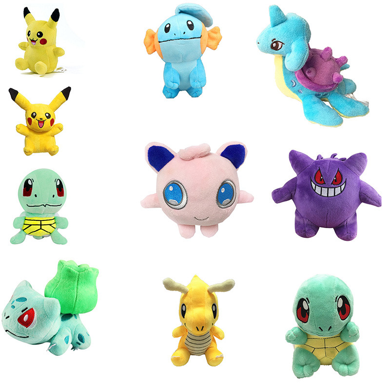 new-15cm-pikachu-font-b-pokemon-b-font-plush-toy-doll-jenny-turtle-fire-dragon-toy-for-kids-birthday-christmas-gift
