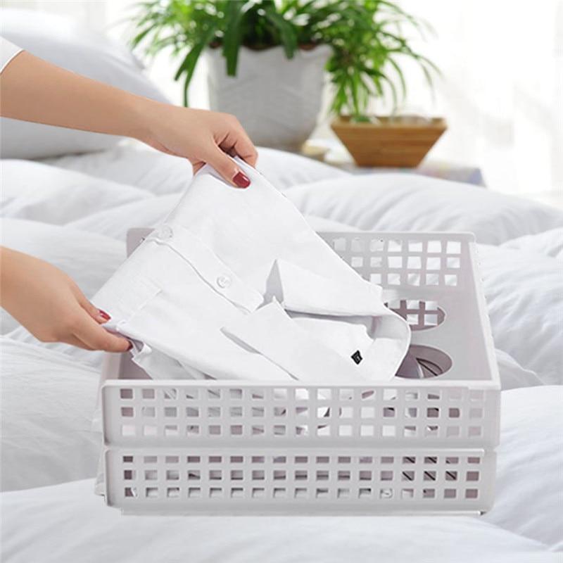 1 шт. креативные полки для хранения одежды, складные доски для организации одежды, папка для рубашек, футболки, документов, домашний шкаф, Органайзер