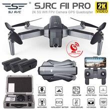 SJRC F11 4K פרו drone עם 2 ציר gimbal מייצב מצלמה F11/F11 פרו GPS Drone 5G Wifi 1080P/2K מצלמת Quadcopter Vs SG906 Dron