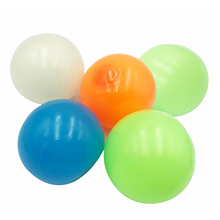 Toy Decompression-Balls Sticky-Target-Ball Anti-Stress 5pcs Fluorescent