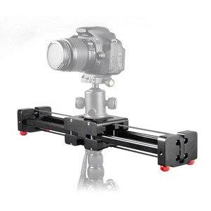 Профессиональный Регулируемый слайдер для цифровой зеркальной камеры, 40 см, двойной дистанционный стабилизатор для камеры Canon, Nikon, Sony