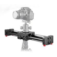 Новинка Профессиональный Регулируемый слайдер для цифровой зеркальной камеры видео трек 40 см двойное расстояние для камеры Canon Nikon Sony стабилизатор DV Dolly