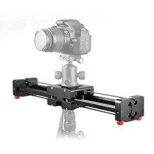 Cámara DSLR ajustable profesional, pista deslizante de vídeo, 40cm, doble distancia, estabilizador de cámara DV Dolly, Canon, Nikon, Sony
