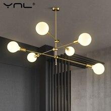 Modern Nordic Pendant Lights Living Dining Room Hanging Lamp Pole Art Decoration Indoor Lighting Design Pendant Lamp Ceiling