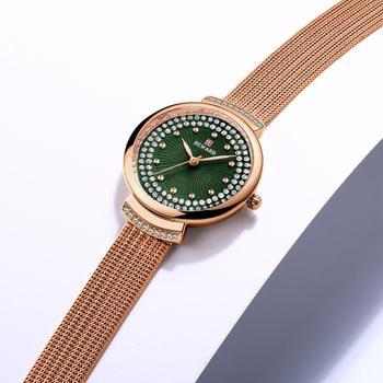 Reward Watch Women Quartz Watches Ladies Top Brand Chic Luxury Crystal Female Stainless steel Mesh Wrist Watch Girl Clock Relogi