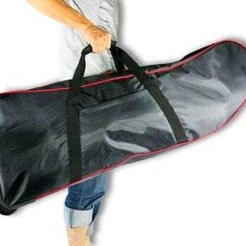 Bolsa de transporte plegable para patinete eléctrico, bolsa de transporte para Scooter plegable de gran capacidad, bolsa de transporte para patinete de 10 pulgadas con ruedas