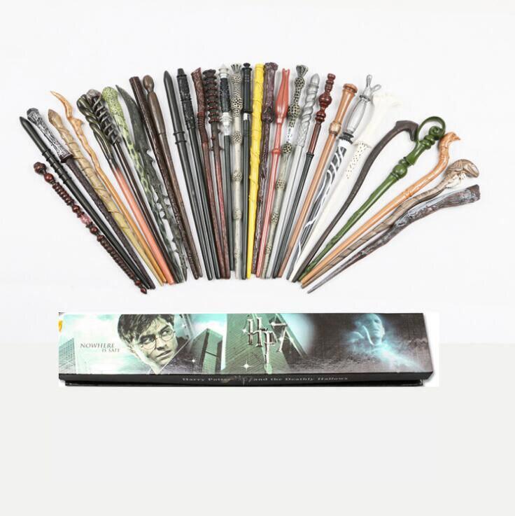 Colsplay Potter Wand Magic Metal/Iron Core Old Magical Wand Elegant Ribbon Gift Box Packing
