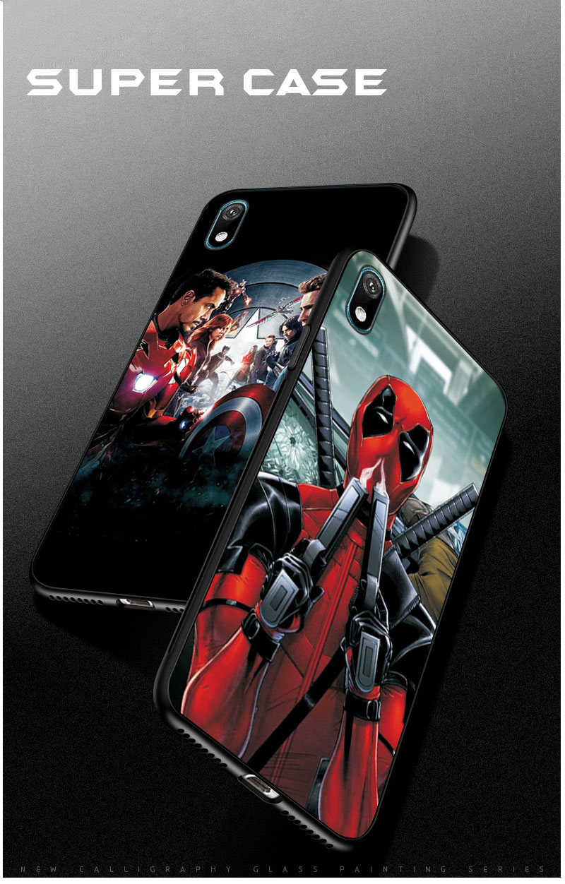 Shell case For Huawei Y5 Y6 Y7 Y9 2019 Y5 Lite Prime 2018 Honor 8S 8A with Clown and Spiderman graphics 6