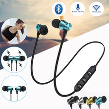 Bluetooth Headphone Earphone Wireless Auriculares Earpiece Earbuds for iPhone Sa