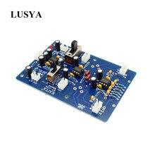 Lusya placa de entrada amplificadora, dois canais, equilibrado, placa de entrada btl, entrada estéreo, ponte t0865