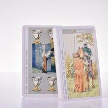 Decameron Tarot kartları ışık seer erkek modern cadı melekler serisi günlük cadı Oracle kartları PDF Guideboock İngilizce tahta oyunları