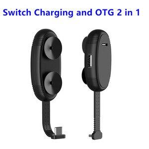 Image 1 - Cabo 2 em 1 para nintendo switch, cabo de extensão tipo c para usb sem necessidade de driver acessórios para nintendo switch
