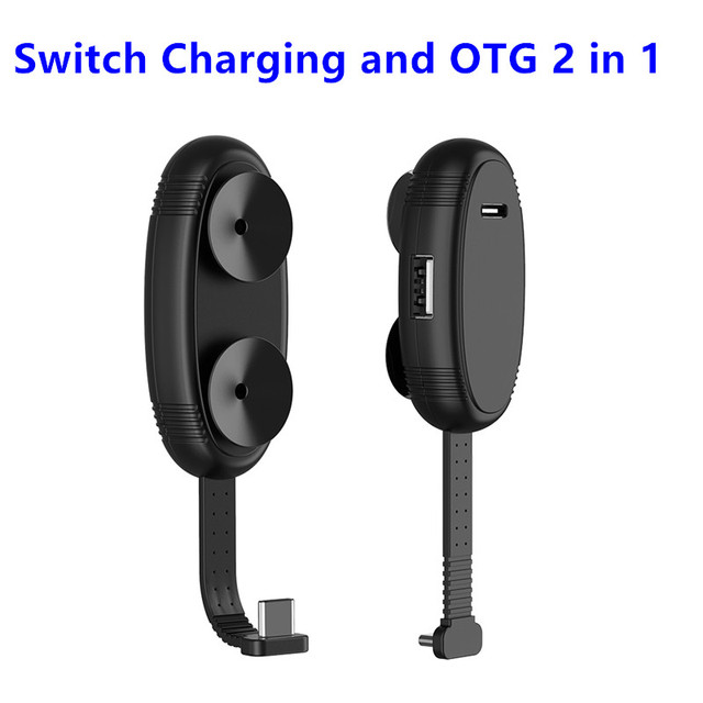 Cabo 2 em 1 para nintendo switch, cabo de extensão tipo c para usb sem necessidade de driver acessórios para nintendo switch