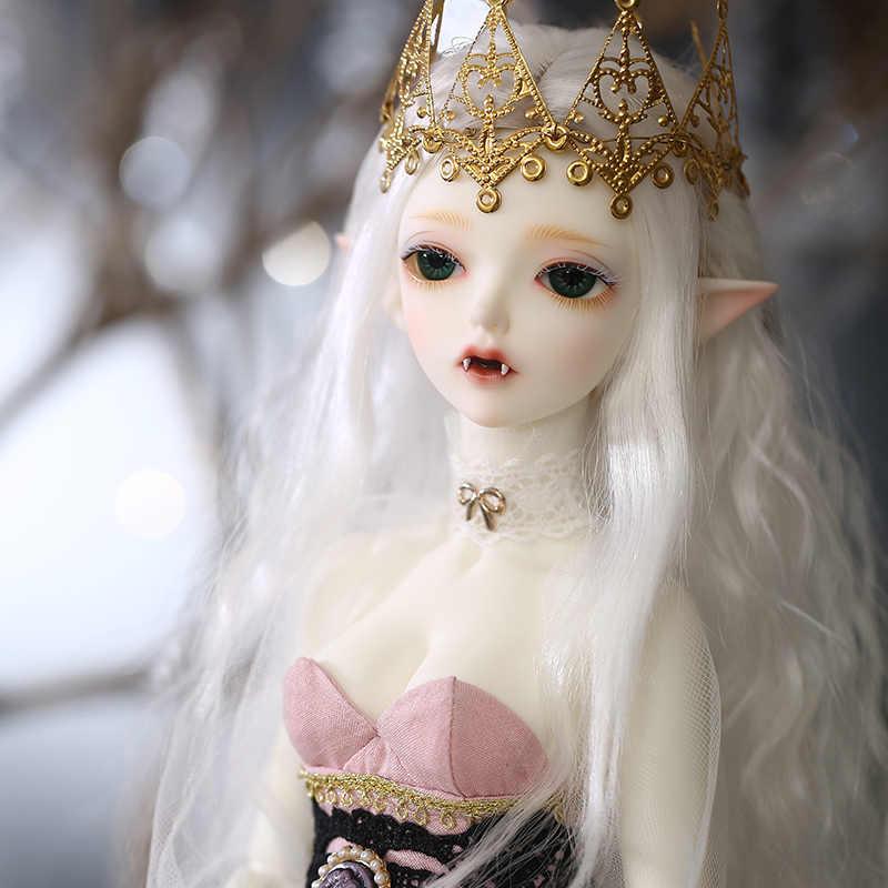 Fairyland Minifee BJD bebek 1/4 Fullset seçeneği Chloe çıplak bebek topu eklemli bebek oyuncak çocuklar için kız koleksiyonu Oueneifs