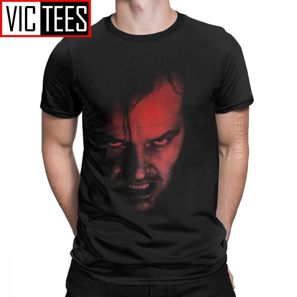 The Shining Horror Redrum Jack's Back Men T Shirt 2020 Vintage Round Neck Tshirt Cotton Wholesale