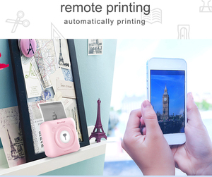 Image 2 - PeriPage Bluetooth impresora fotográfica térmica Mini portátil de bolsillo 58mm impresora portátil de etiqueta para iOS Android Windows teléfono móvil
