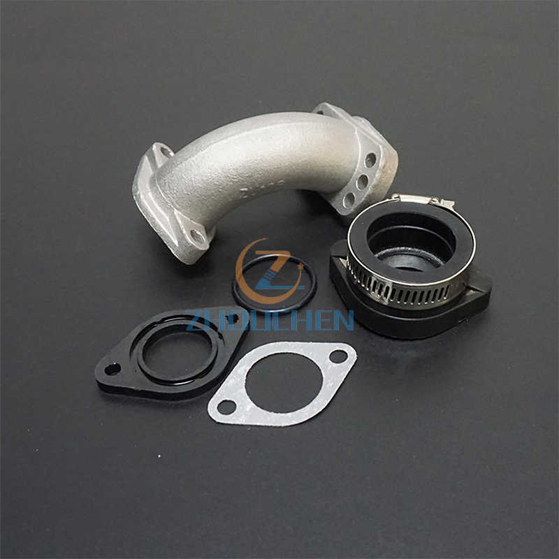 Juntas de entrada 140cc, 150cc, 160cc, 200cc, tubo de entrada múltiple, Pit bike para carburador Roundslide Mikuni, juntas de 26mm 29mm