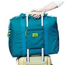 Packing Cubes Duffle Travelling-Bag Hand-Luggage Weekender Folding Carry-On Nylon Large-Capacity