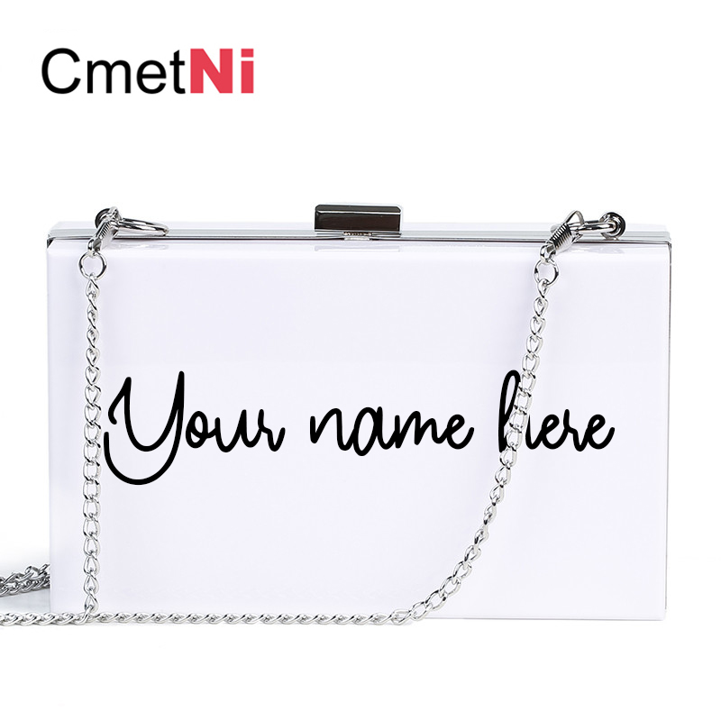 Personalized Acrylic Clutch Monogram Purse Bridesmaid Clutch Bridesmaid Handbag Bridesmaid Bag Custom Mrs Clutch Bride Box