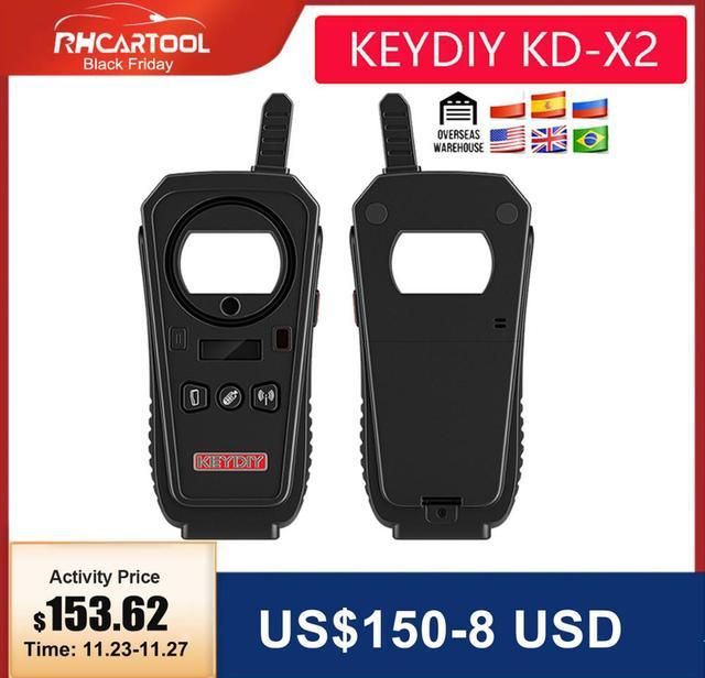 2020 OBD2 키 프로그래머 도구 KEYDIY KD X2 자동차 키 차고 문 원격 kd x2 Generater/칩 리더/주파수 무료 배송