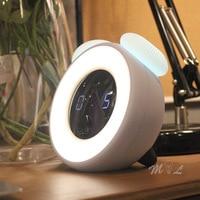 Dimmbare Pilz USB Led Nacht Licht Motion Sensor Uhr Licht Schlafzimmer Studie Neben Lampe Luminaria Nachtlicht 3W Decor Lichter